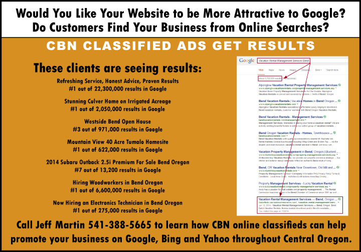 Cascade Business News Free Online Classified Ads: Get You