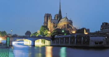 Notre Dame Cathedral in Paris, France