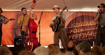 Pokey Lafarge at the 2013 Sisters Folk Festival  by Lynn Woodward Photography