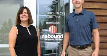 Renee Alexander of BBT Architects and Mike Tompkins of Rebound