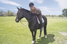 Aisha Ali-Duyck of Spyglass Stables in Bend, Oregon