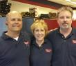 (L-R)  Steve Peters, Lin Peters and Mickey Meszaros