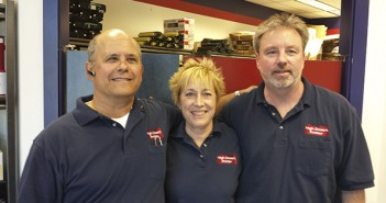 (L-R)  Steve Peters, Lin Peters and Mickey Meszaros