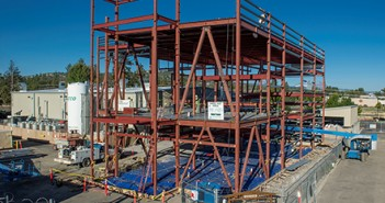 Commercial Facility Expansion Construction at Bend Research Manufacturing Facility