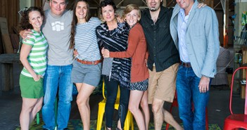 Team JUJU (L-R): Megan McDonald, Carlos Perez, Jacqueline Smith, Julia Junkin, Natalie Puls, Benjamin Kinzer and Jay Junkin. Photo by Thomas & Velo Photography