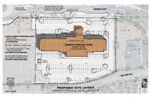 Spring Hill Suites - Proposed Site Layout