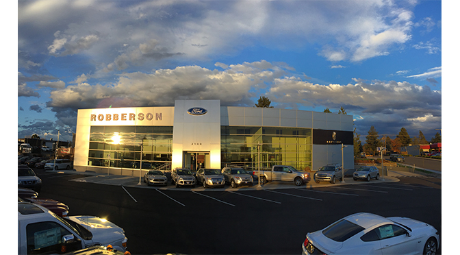 Robberson Ford Bend Or >> Remodeled Robberson Ford Facility Opens Up New Horizons
