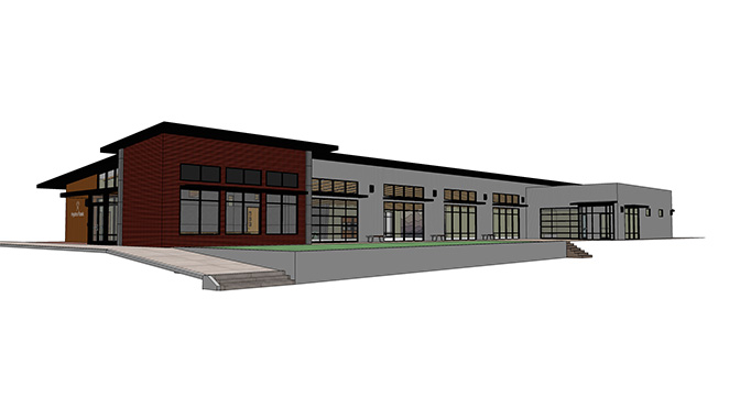 Hydro flask plans new headquarters facility in bend for Bend oregon house plans