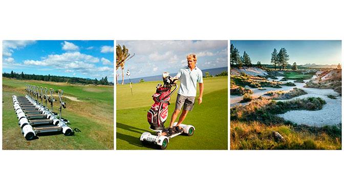 Tetherow Resort in Bend, Oregon Hosts First-Ever Golfboard-Only Golf on michael jordan golf cart, adam sandler golf cart, tiger woods golf cart, peyton manning golf cart, surfing golf cart, jeff gordon golf cart,