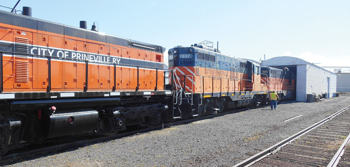 Future Looks Bright for Prineville Railway