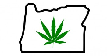 oregon and weed leaf