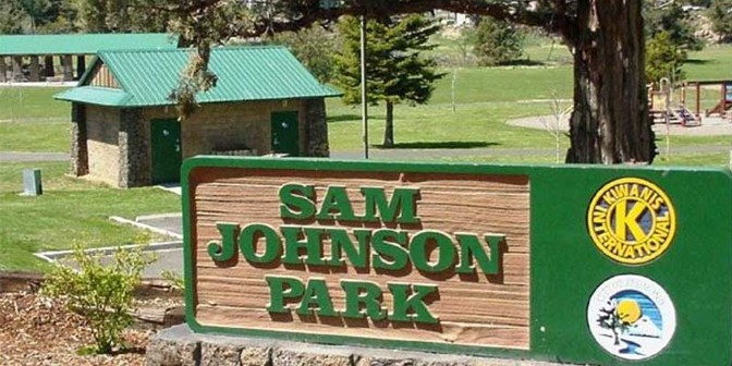sam johnson park