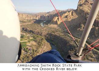 Smith Rock Gliding