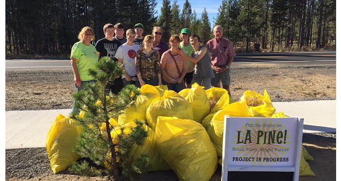 La Pine High School Volunteers