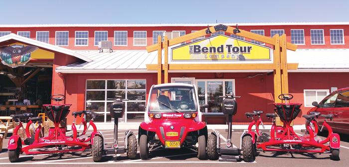 bend tour company
