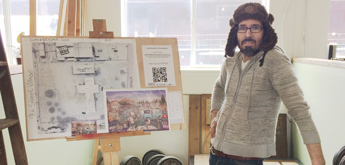 New Artist Collective at 9th Street Village in Bend