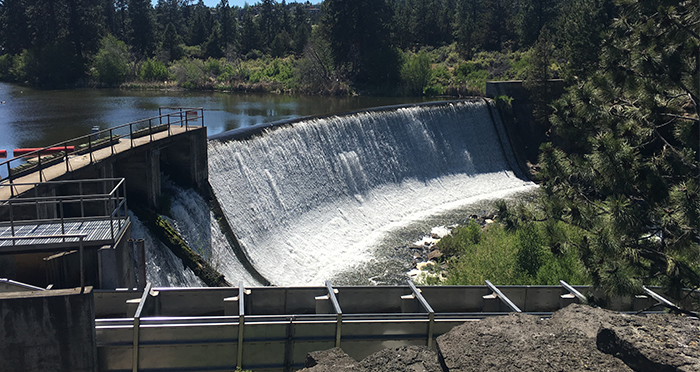 Dedication on june 14 marks completion of north canal fish for Dam fish count