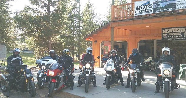 Motogarage| Photo Courtesy of DiamondStone Guest Lodges / MotoFantasy Motorcycle Rentals