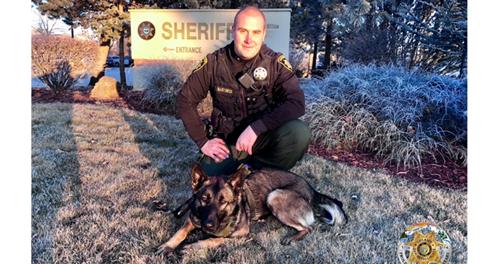Deschutes County Sheriff's Office Newest K9 'Masa' Hits the