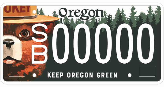 smokey-license-plate