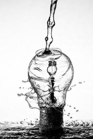 water-light-bulb