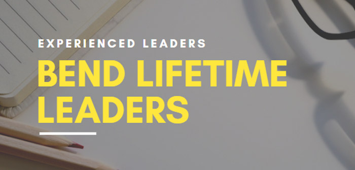 New Program Announced – Bend Lifetime Leaders