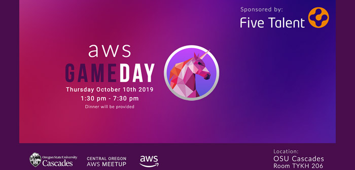 Five Talent to Host Popular AWS GameDay