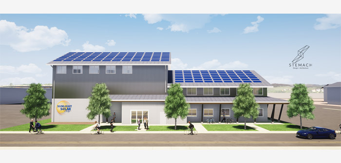 Sunlight Solar Breaks Ground on New Net Zero Energy Headquarters in Bend's Up-and-Coming Central District