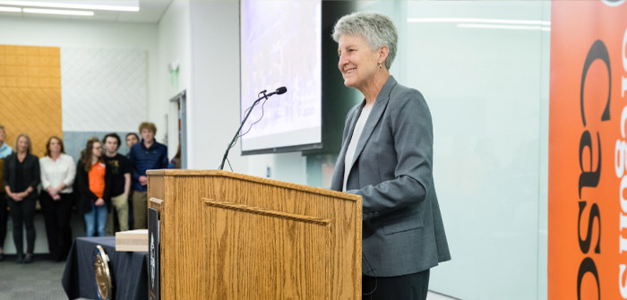 Becky Johnson Now Serving as Oregon State's Interim President