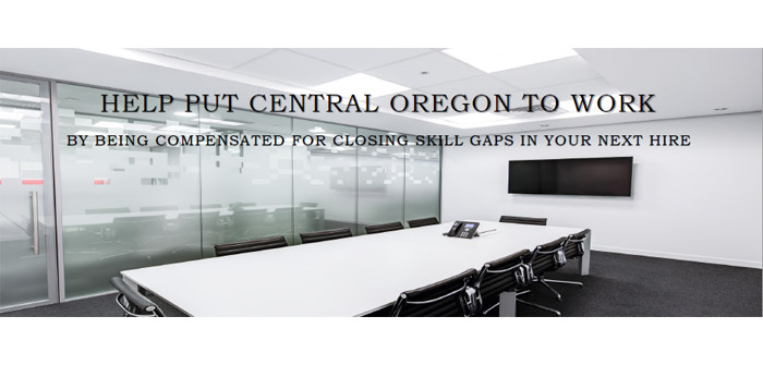 Help Put Central Oregon to Work