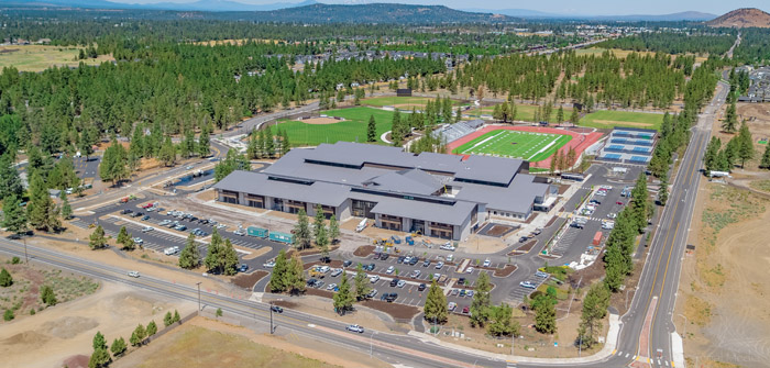 Welcome to the Pack! Bearing Wolf Mascot, Caldera is Bend's First New High School in 20 Years